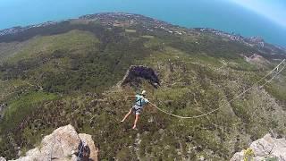Шаан-кая. Rope jumping