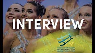 Interview Team Paradise (RUS) #WorldSynchro - Stockholm 2018