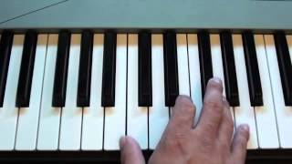 How to play Thunderstruck intro by AC/DC on keyboard