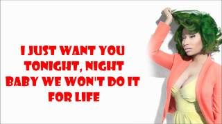 Nicki Minaj - Pound The Alarm Lyrics Video