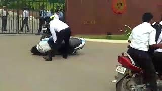 Ngp collage Coimbatore students protest against new rules