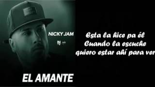 El Amante - NICKY JAM (Version Balada) video oficial con LETRA | cover _ Johann Vera