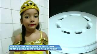 Menina de 7 anos morre após ter o cabelo sugado pelo ralo da piscina