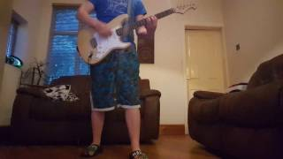 Bowling for soup - Punk rock 101 guitar cover