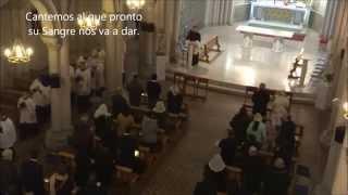 COMIENZA EL SACRIFICIO. Canto procesional