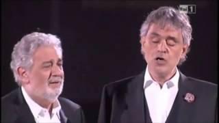 NON TI SCORDAR DI ME Placido Domingo Andrea Bocelli