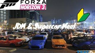 Forza Horizon 3 | JDM And Supercar Meet | Road Trip, w/ S2000, GTA Spano, Veneno & More
