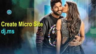 DJ Micro Site