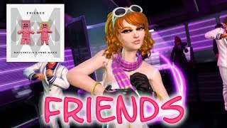Dance Central Fanmade ''FRIENDS'' By Marshmello Ft Annie Marie
