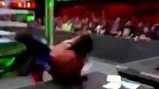 AJ STYLES VS SINSUKE NAKAMURA LAST MAN STANDING MITB
