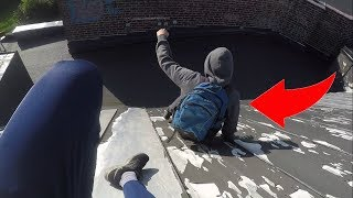 LATE TO SCHOOL AGAIN | PARKOUR POV