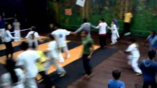 Capoeira ao som do Tapa