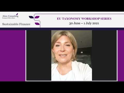 Keynote speech and Q&A: Eila Kreivi, Director for Capital Markets, European Investment Bank