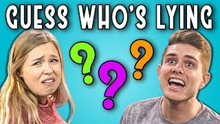 CAN YOU GUESS WHO'S LYING?   Poker Face #2 (REACT)