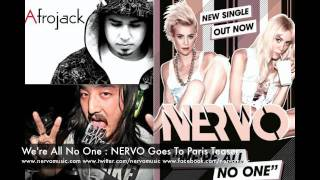 We're All No One ft Afrojack and Steve Aoki (NERVO Goes to Paris Remix Teaser) - NERVO