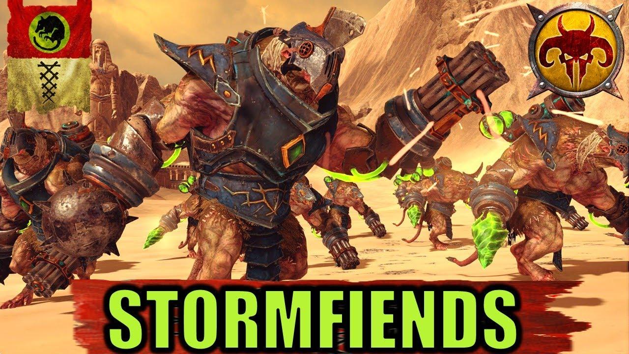 milkandcookiesTW - STORMFIENDS & DOOMBULLS - Skaven vs. Beastmen - Total War Warhammer 2