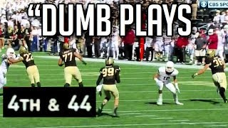 Dumbest Plays in Football History || HD