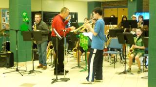 "TCMS Jazz band- ""Night Train"""