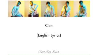 CNCO- Cien (English Lyrics)