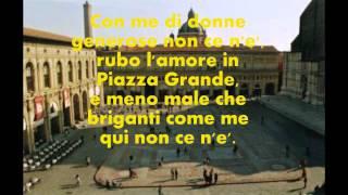 LUCIO DALLA-PIAZZA GRANDE-testo