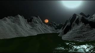 Alien Planet floating rocks lol