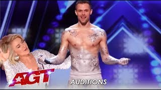 Matthew Richardson: Humble Graphic Designer BLOWS The Judges Away! | America's Got Talent 2019