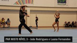 Par Misto Nivel 3 - João Rodrigues e Luana Fernandes (Campeonato Regional de Ginástica Acrobática)