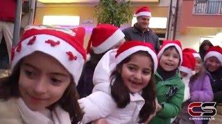 Babbo Natale a San Giorgio - 20.12.2015 - www.canalesicilia.it