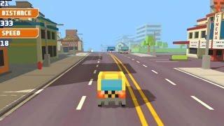 Pixel Road Taxi Depot Y8 CAR DRIVE