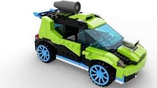 LEGO CREATOR Ракетна кола за рали 31074