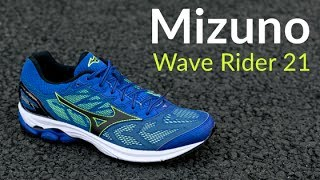 Mizuno Wave Rider 21 - Running Shoe Overview