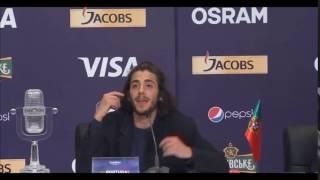 """Salvador Sobral: """"Fodasse"""" Eurovision 2017"""