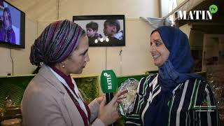 Matin TV en direct du SIAM : L'association Al Rayane engagée en faveur de l'intégration économique des femmes