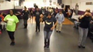 Let's Get Loose- Line dance- Tina B. Class Sacramento CA.