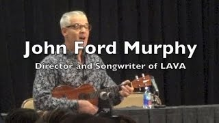 """Disney Pixar LAVA Song, Sung by Director John Ford Murphy at """"Inside Out"""" Press Conference"""