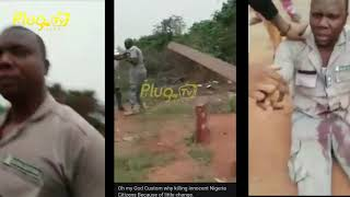 Nigerian Custom Officer Killed An Innocent Young Man Because Of 5k | plugtv