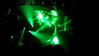 SKRILLEX - Reptile - Mortal Kombat footage! LIVE @ Terminal 5 New York City 2/4/12