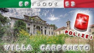 Villa Carpeneto: POLIZEI-EINSATZ und bellende WACHHUNDE im Gebäude - haben wir den ALARM AUSGELÖST?