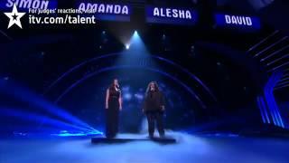 Jonathan and Charlotte - Britains Got Talent 2012 Live Semi Final - UK version
