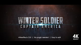 Winter Soldier Cinematic Trailer (After Effects Template)
