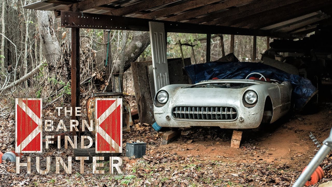 Barn Find Hunter: Discovering a C1 Corvette and 'baby Ferrari'