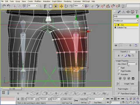 inspirational flex muscles rigging in 3ds max tutorial 3ds max rigging tutorial fix the rig 1 265