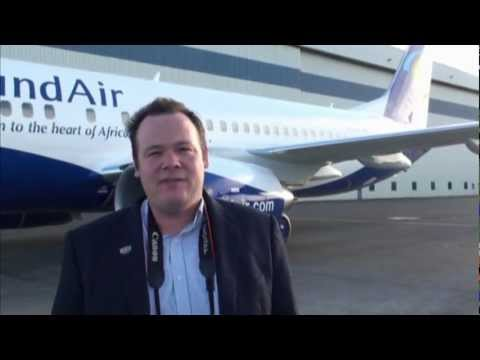RwandAir Boeing 737 Delivery Flight