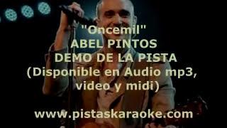 """Abel Pintos """"Oncemil"""" DEMO PISTA KARAOKE"""