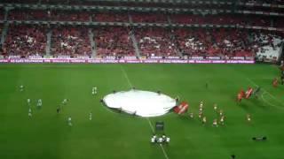 Hino do Benfica no jogo com o Rio Ave