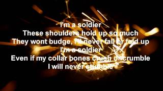 Eminem Soldier Lyrics HD