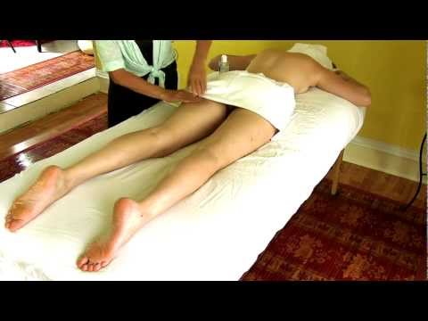 HD Thigh, Leg & Foot Massage, How to Body Massage Therapy ...