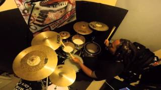 Chris Brown   Fine By Me | Marcus Thomas drum cover