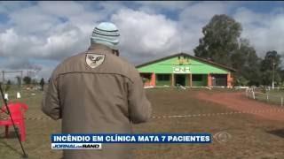 Incêndio mata 7 pessoas em clinica de reabilitação na grande Porto Alegre