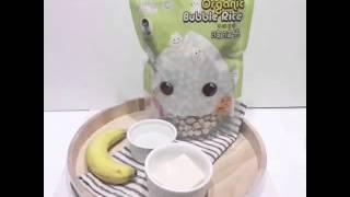 4-6個月大 - 香蕉豆腐南瓜波波米糊